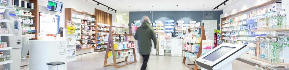 Interior Farmácia Borba