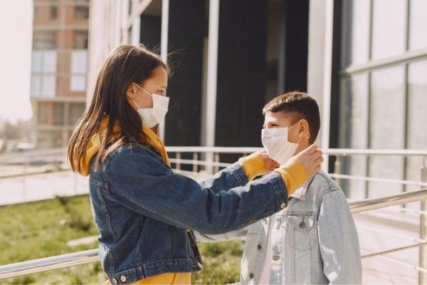 conselhos para se manter seguro durante a pandemia